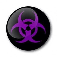 Biohazard Gel Wheel Centre Badge