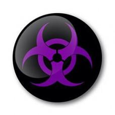 Biohazard Gel Wheel Centre Badge