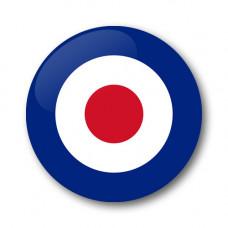 MOD RAF roundel Gel Wheel Centre Badge