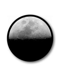 Moon keyfob Wheel Centre Badge