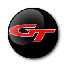 GT Gel Wheel Centre Badge Coloured Inlay