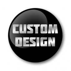 Custom Design Gel Wheel Centre Badge