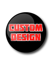 Custom Design Gel Wheel Centre Badge with Inlay & Outline