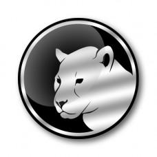 JAGUAR HEAD Gel Wheel Centre Badge
