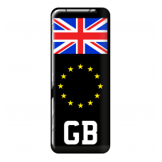 3D Domed Gel Resin GB ENG SCOTLAND WALES CYMRU Number Plate Sticker Decal Badge with Flag EU Euro Stars Wholesale