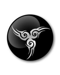 TATTOO Gel Wheel Centre Badge