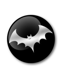 THE BAT Gel Wheel Centre Badge