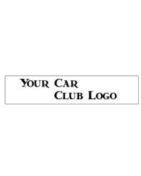 Car Club Show Plate