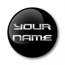 Custom Name Gel Wheel Centre Badge